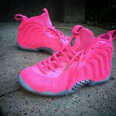 Hot Pink foamposites