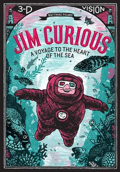 Jim Curious: A Voyage to the Heart of the Sea in 3-D Vision by Matthias Picard. (Due to the need for 3-D glasses, this title doesn't seem appropriate for public library collections.)