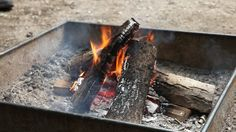 Learn to Start a Campfire