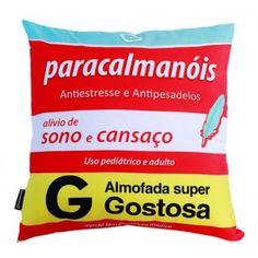 Capa para Almofada Paracalmanois - R$ 25,00