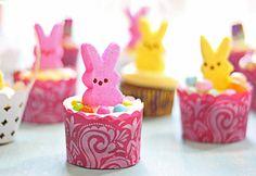 Bunny Cupcakes for Luke