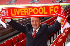 Rafael Benitez when he was unveiled as Liverpool manager