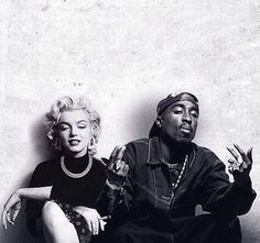TUPAC SHAKUR and MARILYN MONROE
