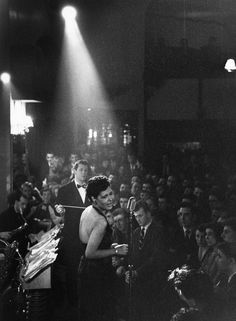 Billie Holiday - never saw her, but this is how I've always pictured that I would.