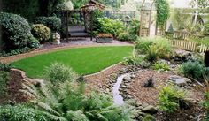 small low maintenance gardens - Google Search