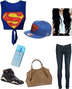 """SuperSwag"" by debbydevans ❤ liked on Polyvore"