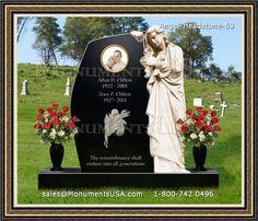 Heartbroken Angel Cemetery Memorials