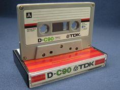 TDK 90 minute cassette tape