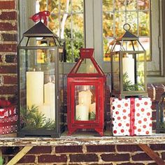 These lanterns are another mind blowing idea of decorating your home wonderfully, it is not necessary that lanterns have to be same, you can create a wonderful look by using different types of gorgeous lanterns.