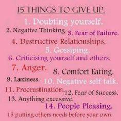 Reminder to Self...