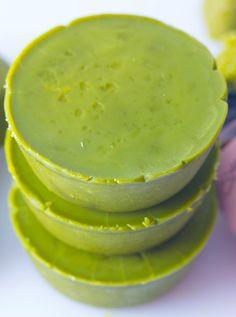 DIY Green Tea Body Scrub Cups