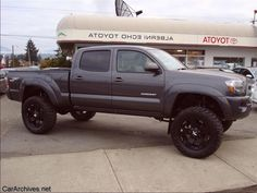 toyota tacoma lifted - Google Search