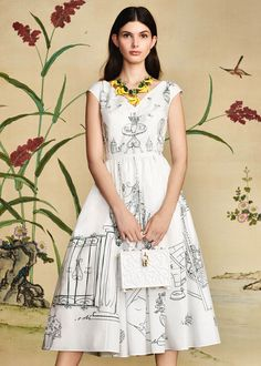 Discover the new Dolce & Gabbana Women's Botanical Garden Collection for Fall Winter 2016 2017 and get…