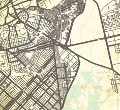 KARACHI Canvas Print Pakistan Vintage map Karachi Sindh wall