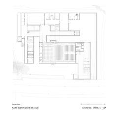 Teatro-Auditório de Llinars del Valles,Planta do Térreo