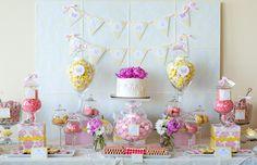 Yuri's Birthday Party Candy Buffet Dallas Buffets