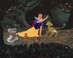 Snow White - With A Smile and a Song