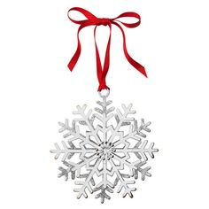 AVON LIVING CATALOG---Sparkling Snowflake Ornament Set of 3  www.yourAvon.com/rplattharendza