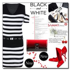 """Untitled #298"" by sirena39 ❤ liked on Polyvore featuring FRUIT and Christian Louboutin"