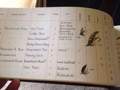 1st Edition 1st Printing Muriel Foster's Fishing Diary 1980 W/ Box & Brochure | eBay