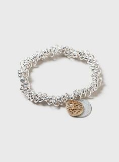 Silver Stretch Charm Bracelet