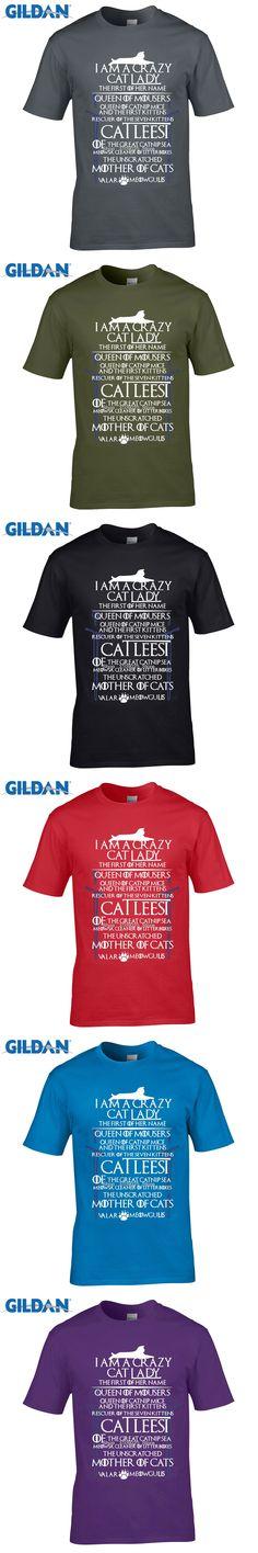 GILDAN New Trend Catleesi Mother Of Cats Men T Shirt Newest Men Short Sleeve Tee Shirt LifeStyle Custom Made Cotton Top Tees