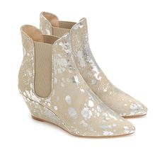 "Loeffler Randall ""Allie"" Wedge Bootie ~ jacmove.com #ShoeOftheDay #fashion #style"