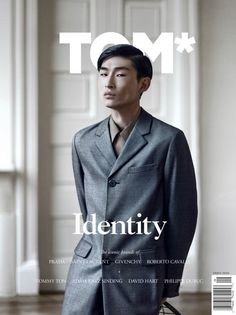 Sang Woo Kim Covers TOM* Magazine in Prada
