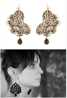 Lace Earrings 'Sissa Leo' Lace Earrings, Pearl Earrings, Drop Earrings, You Look Pretty, Leo, Jewelry Making, Jewellery, Accessories, Beautiful