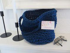 Körbe - Häkelkorb-kleiner Shopper - ein Designerstück von Somasu bei DaWanda