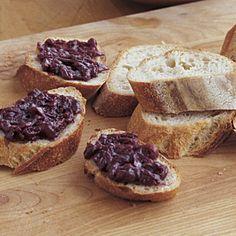 Cabernet Onion Jam - FineCooking