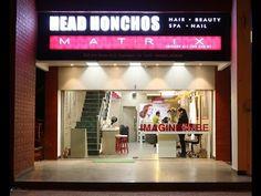 Beauty Salon Interior Design - Head Honchos - Chandigarh - YouTube