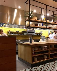 Liholiho Yacht Club - San Francisco, CA, United States. Open kitchen