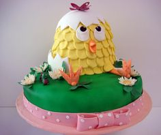 another chick cake — Easter