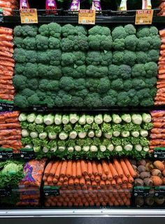 Vegetables... wow, I feel healthy already. :))