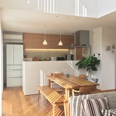 Japanese Interior, Japanese House, Little Houses, Future House, Sweet Home, House Design, Interior Design, House Styles, Kitchen