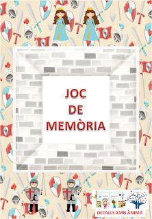 JOC DE MEMÒRIA - ST. JORDI. DETALLS AMB ÀNIMA