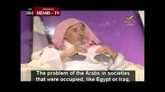 """Saudi Cleric: """"We Arabs are backward, but we don't know it"""". - YouTube NOTE.  This older man knows what he is talking about and he does not let the younger interviewer tell him different.  This is a must see video."""