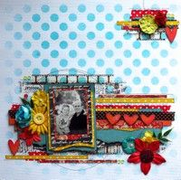 A Project by mjthescrapbooker from our Scrapbooking Gallery originally submitted 03/11/13 at 11:32 AM
