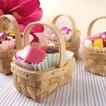 Wedding Favors & Party Supplies - Favors and Flowers :: Favor Packaging :: Favor Boxes :: Mini Picnic Basket - 12 pcs