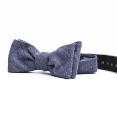The Everlane Bow Tie in Flannel Blue $35  Babe this is so cool and rustic looking!! I like it :D