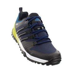 52eae9f394 Men s adidas Terrex Trail Cross Hiking Shoe Collegiate Navy  Unity Lime Hiking  Shoes