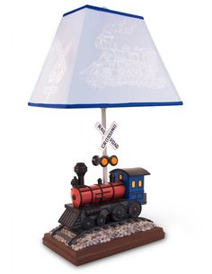 Train, decor, train, lamp, Train, light, by, All, Kids, Lamps, baby and kids lighting by All Kids Lamps.