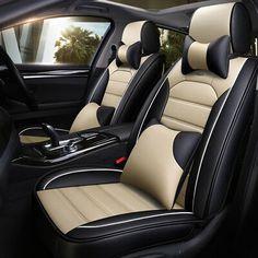 MERCEDES-BENZ C-CLASS C63 AMG HEAVY DUTY BLACK FULL SET WATERPROOF SEAT COVERS