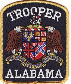 alabama state police patches | AL Alabama Trooper Police Patch *New*