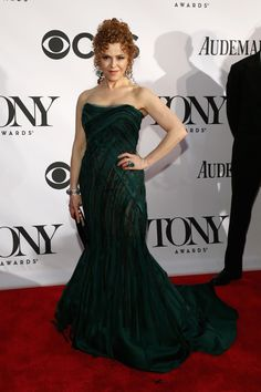 Bernadette Peters in Donna Karan at the 2013 Tony Awards