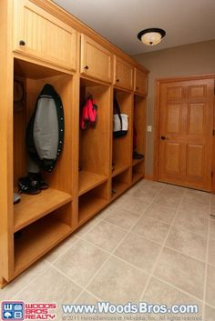built-in storage space