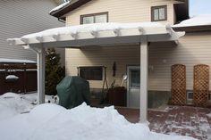 Hybrid Patio Covers in Calgary Calgary, Pergola, Patio, Cover, Outdoor Decor, Furniture, Home Decor, Decoration Home, Terrace