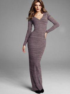 Victoria's Secret Knit Maxi Dress VICTORIA'S SECRET  $79.50