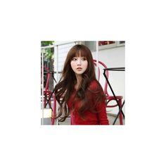 Natural Perm Half Wig - High Quality Korean Women Fashion Clothing &... via Polyvore